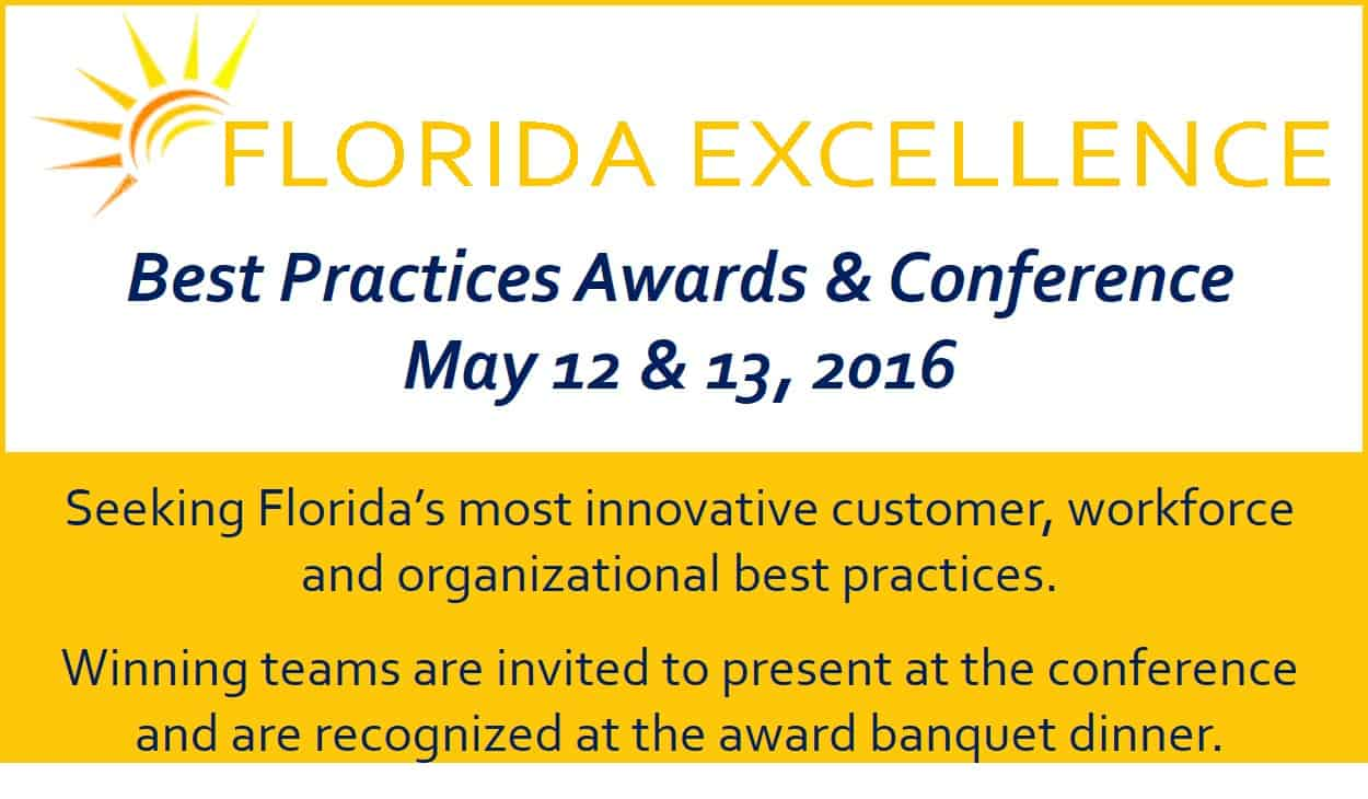 Florida Excellence Best Practices – Seeking Applications
